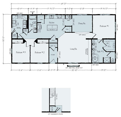 Floorplan of Hobart