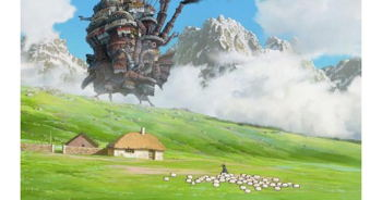 Free movie experience: Howl's Moving Castle