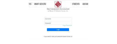 Fund Portal Login Tab