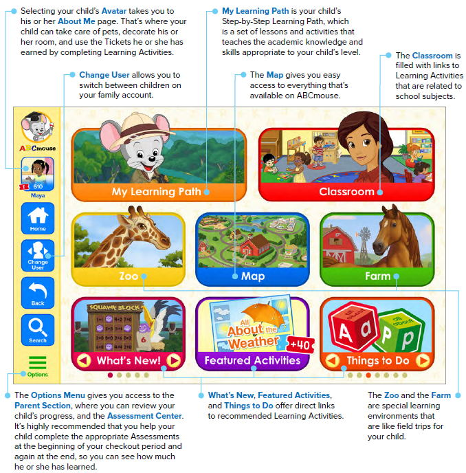 ABCmouse homepage