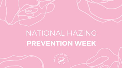 Image for National Hazing Prevention Week 2021