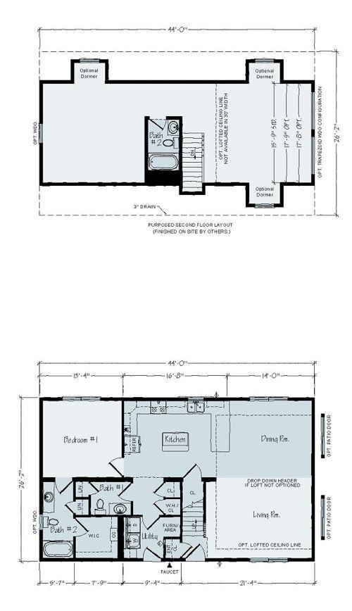 Floorplan of Norwegian Series