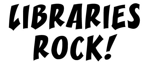 Libraries Rock slogan image