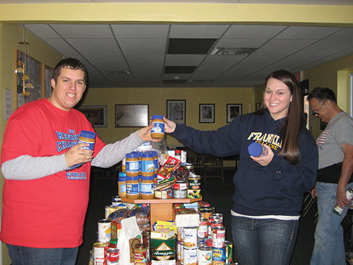 Youth Philanthropy Food Drive