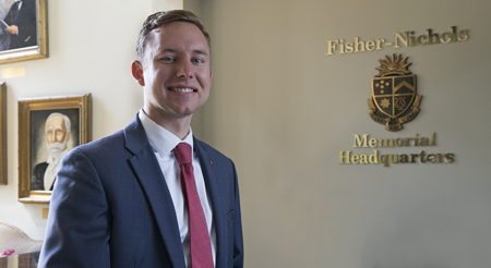 Connor Hollrah Appointed as leadership gifts officer
