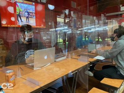 Plexi Barriers in School Setting