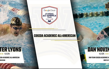 Image for Lyons & Novinski Named CoSIDA Academic All-Americans