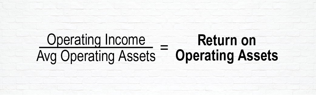 Equation to Determine Return on Operating Assets