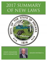 2017 Summary of New Laws - Sen. Niemeyer