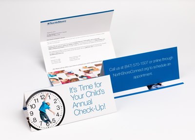 Direct Mail Reminder Campaign Collateral