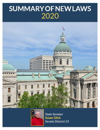 2020 Summary of New Laws - Sen. Glick