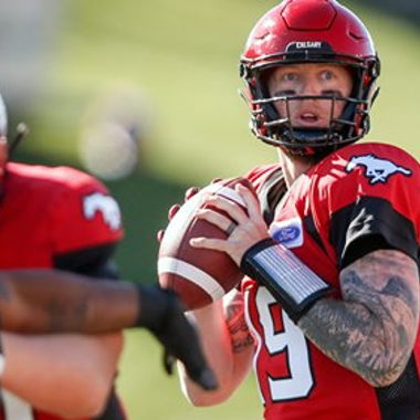 Image for CHECKING DOWN: INJURED STAMPEDERS MAKING PROGRESS