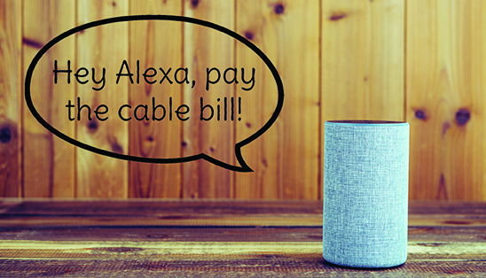 Image for Hey, Alexa - pay the cable bill!