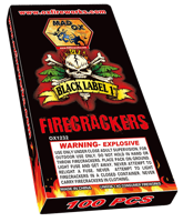 """Image for Black Label 1"""" Firecrackers"""
