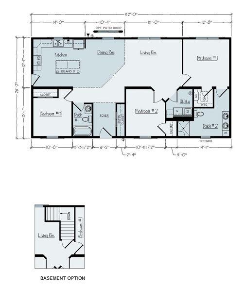 Floorplan of Davenport
