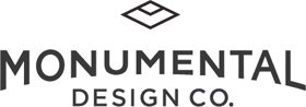 Logo for Monumental Design Co.