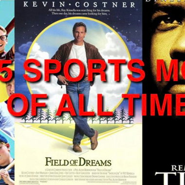Image for Top 5 Sports Movies of All Time