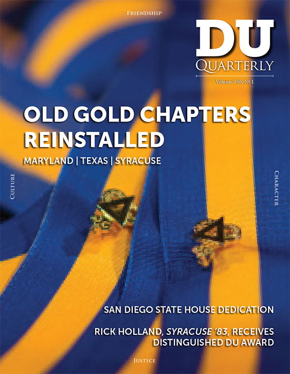 Cover for DU Quarterly Volume 136, No. 1