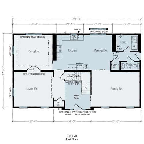 Floorplan of Manuel