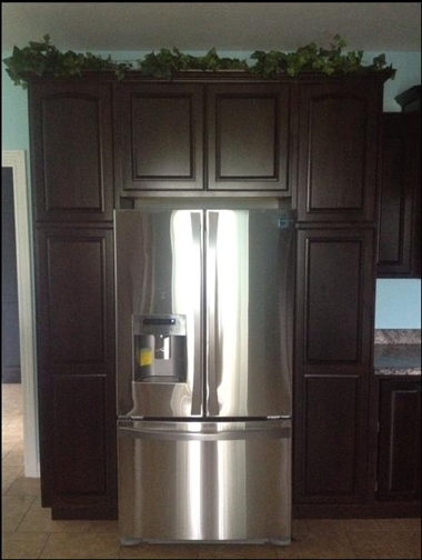 DOUBLE PANTRY SURROUND REFRIGERATOR