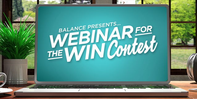 Image for Promo 6 - Webinar For The Win