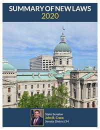 2020 Summary of New Laws - Sen. Crane
