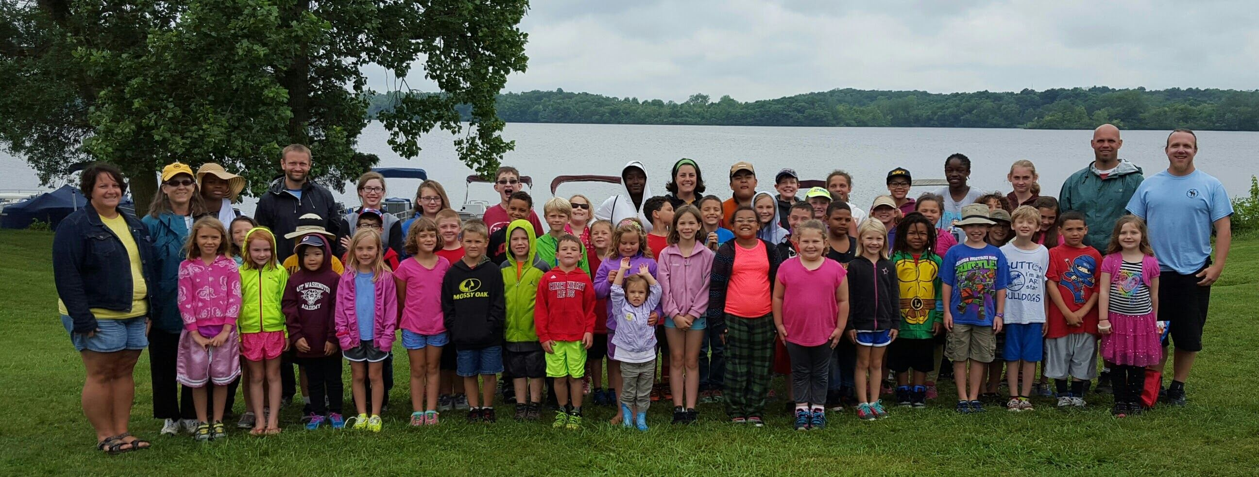 Camp Prairie Creek 2015 Group Photo