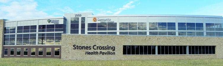 Stones Crossing Health Pavilion in Center Grove