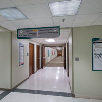 North Campus Hallway