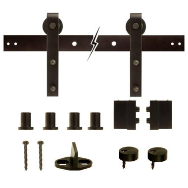 BARN DOORS- OIL RUBBED BRONZE
