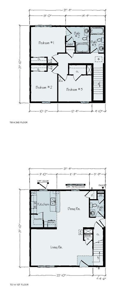Floorplan of Seagull Series
