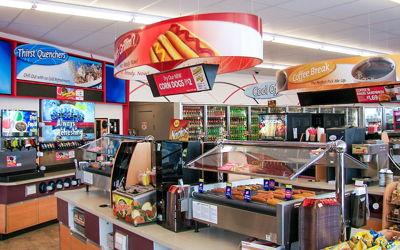 C-Store Department Graphics