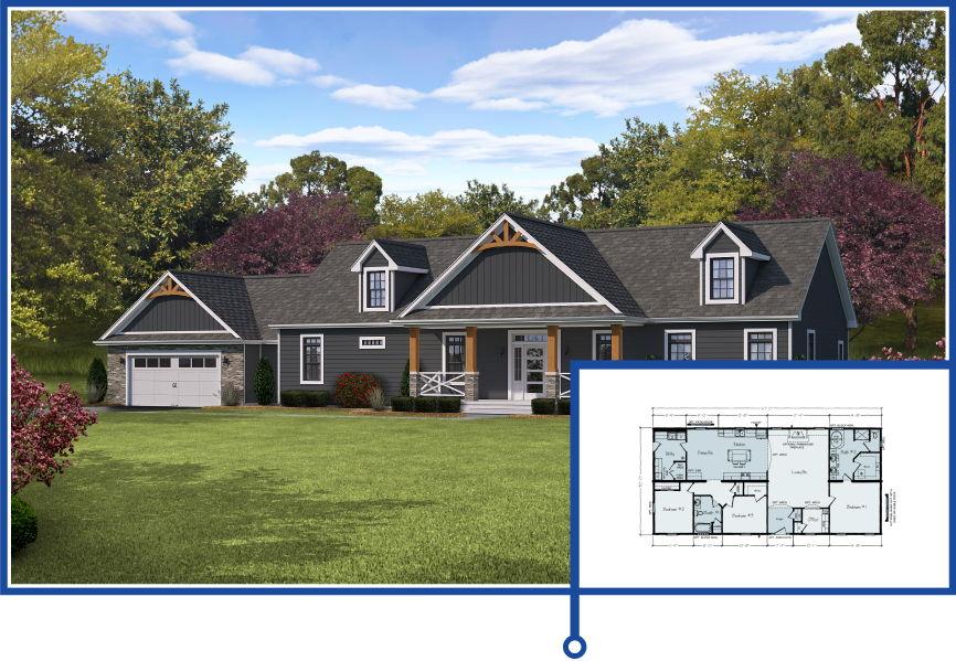 Top Five Most Popular Modular Home Floor Plans