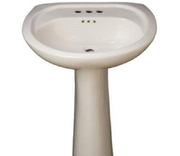 PEDESTAL SINK-WHITE