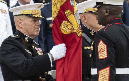Image for Outgoing Marine commandant Neller emphasizes need to prepare for 'very different' conflicts