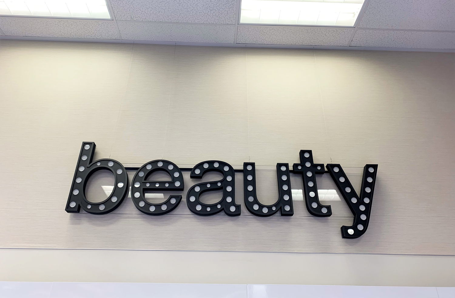 Retail Category Signage