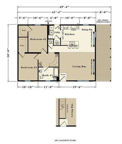Second Floor Blueprint for Kimberly