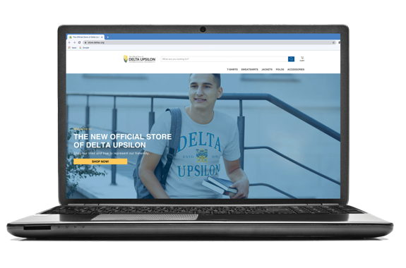 Image for Delta Upsilon Launches New Official Store