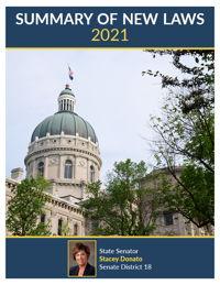 2021 Summary of New Laws - Sen. Donato