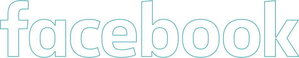 facebook text logo