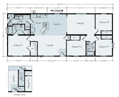 Floorplan of Lakeland