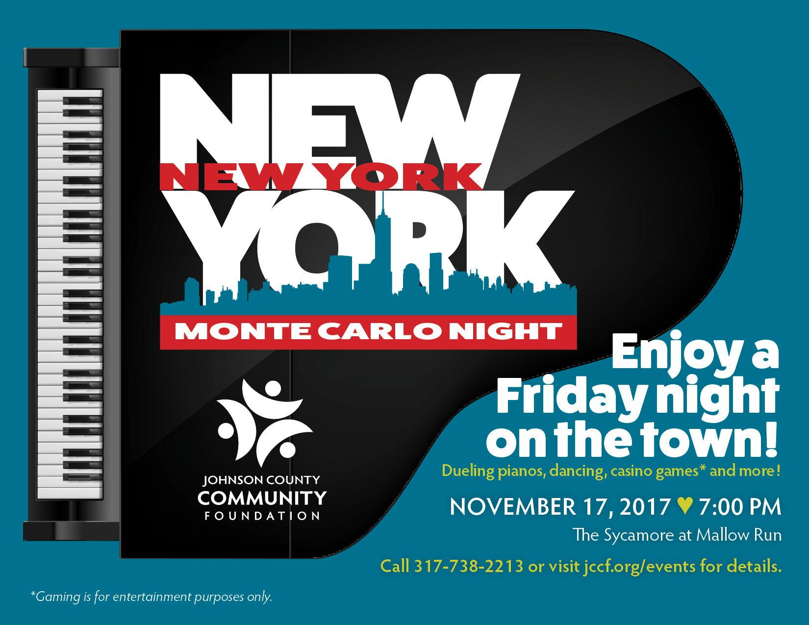 New York New York Monte Carlo Night 2017