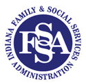 Indiana Family & Social Services Administration logo