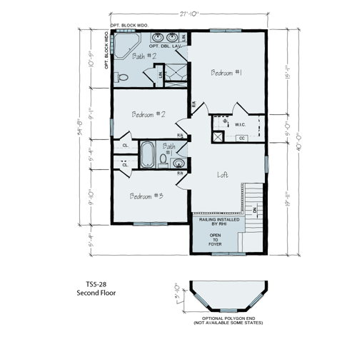Floorplan of EL Paso