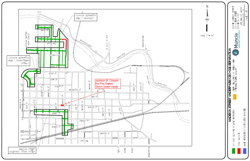 Construction Update for the Week of 3/12/18: Closure of E Jackson St for Several Days for Sewer Installation