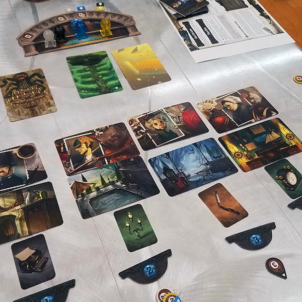 Mysterium board game - end of game