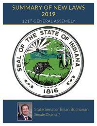 2019 Summary of New Laws - Sen. Buchanan