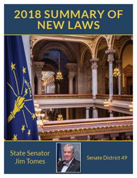 2018 Summary of New Laws - Sen. Tomes
