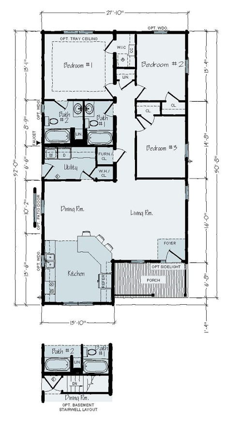 Floorplan of Jamestown