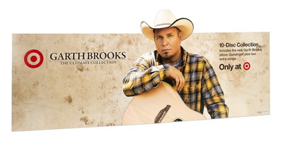 Garth Brooks Endcap Header
